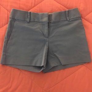 Light blue shorts from Loft